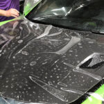 paint protection film appliacation